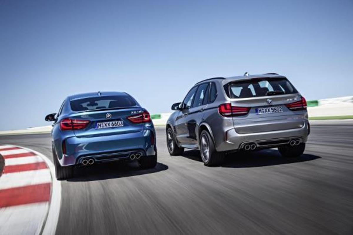 BMW Unveils 2016 X5 M and X6 M - 4