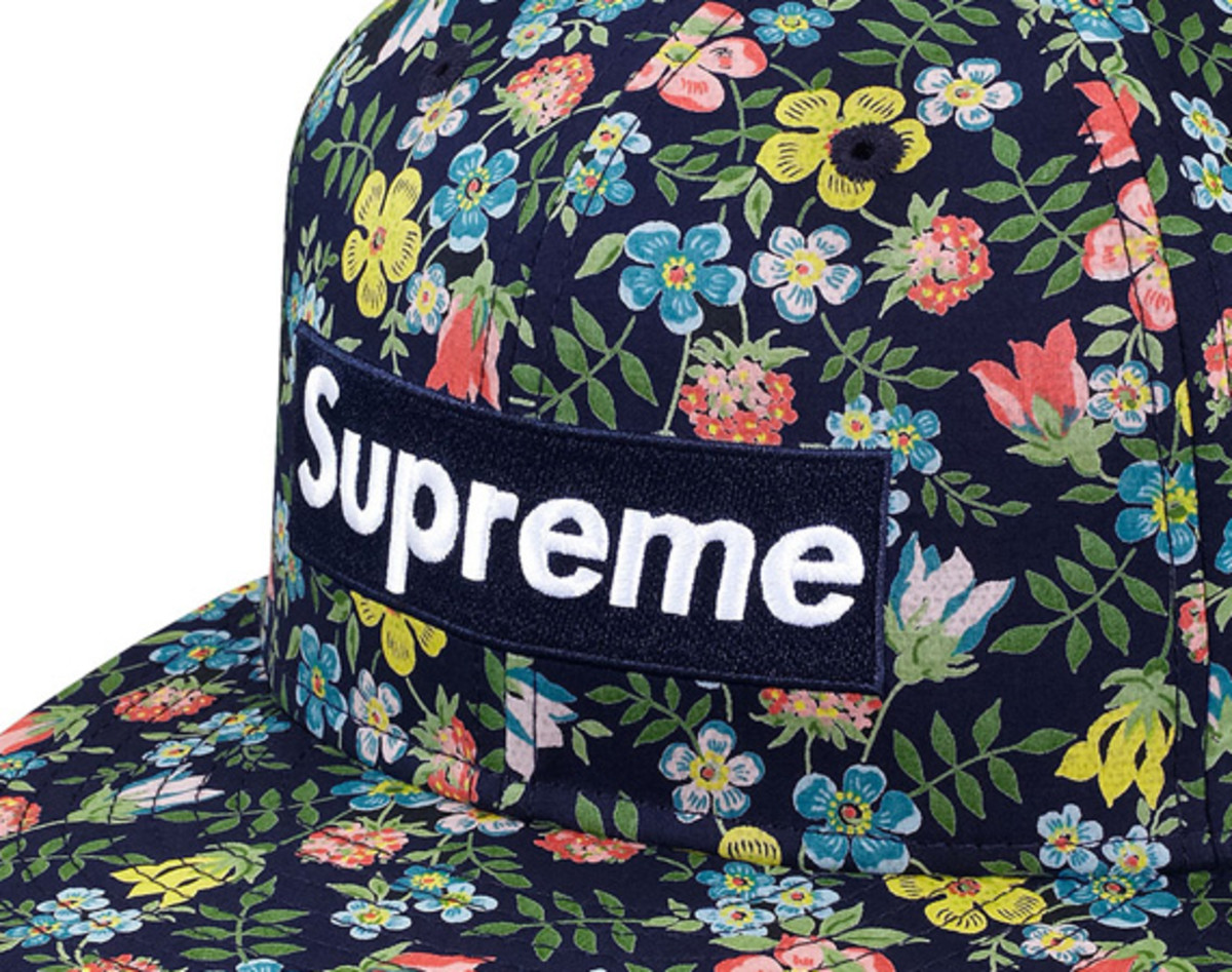 5bfe53b41b1 ... x New Era Floral Box Logo 59FIFTY Fitted Cap. liberty-supreme-new-era- floral-box-logo-59fifty-
