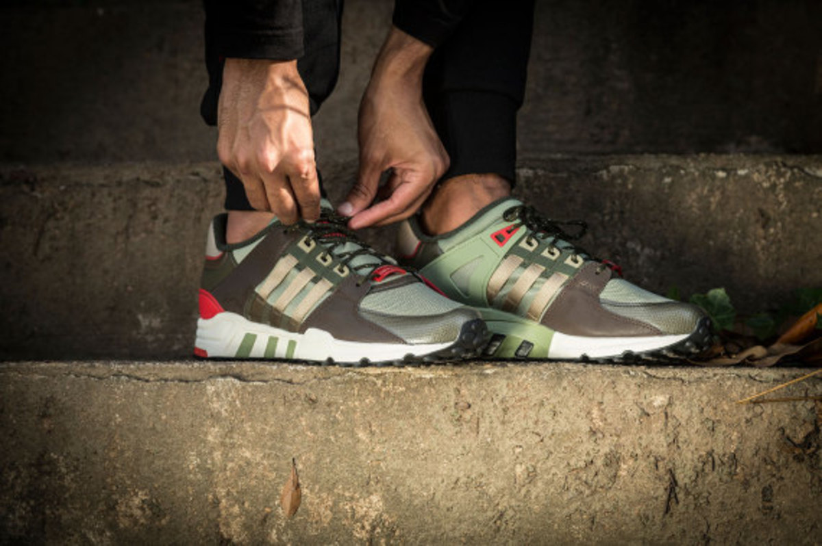 "adidas Originals EQT Running Support 93 – ""Black Gucci"" - 4"