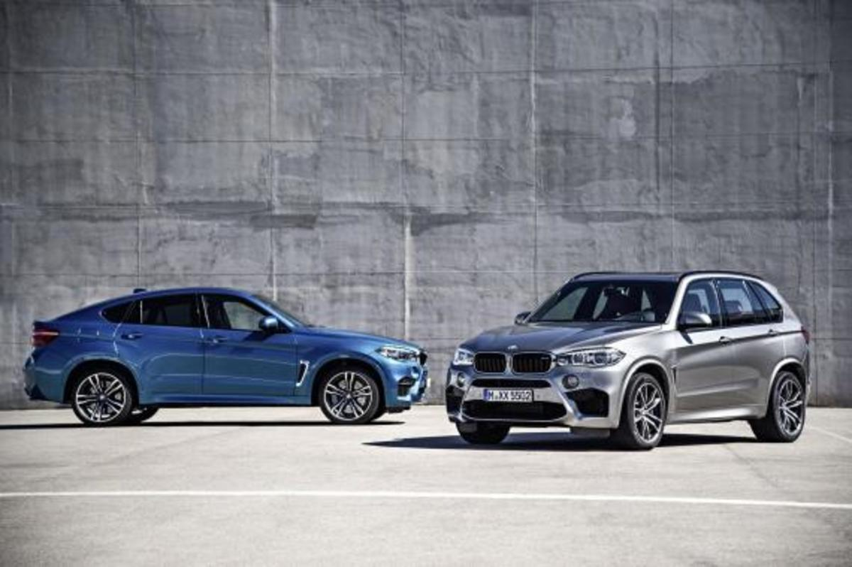 BMW Unveils 2016 X5 M and X6 M - 6