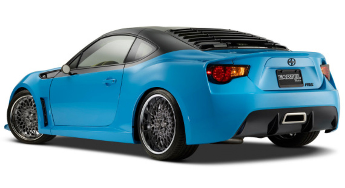 Scion FR-S Targa for SEMA 2014 - 5