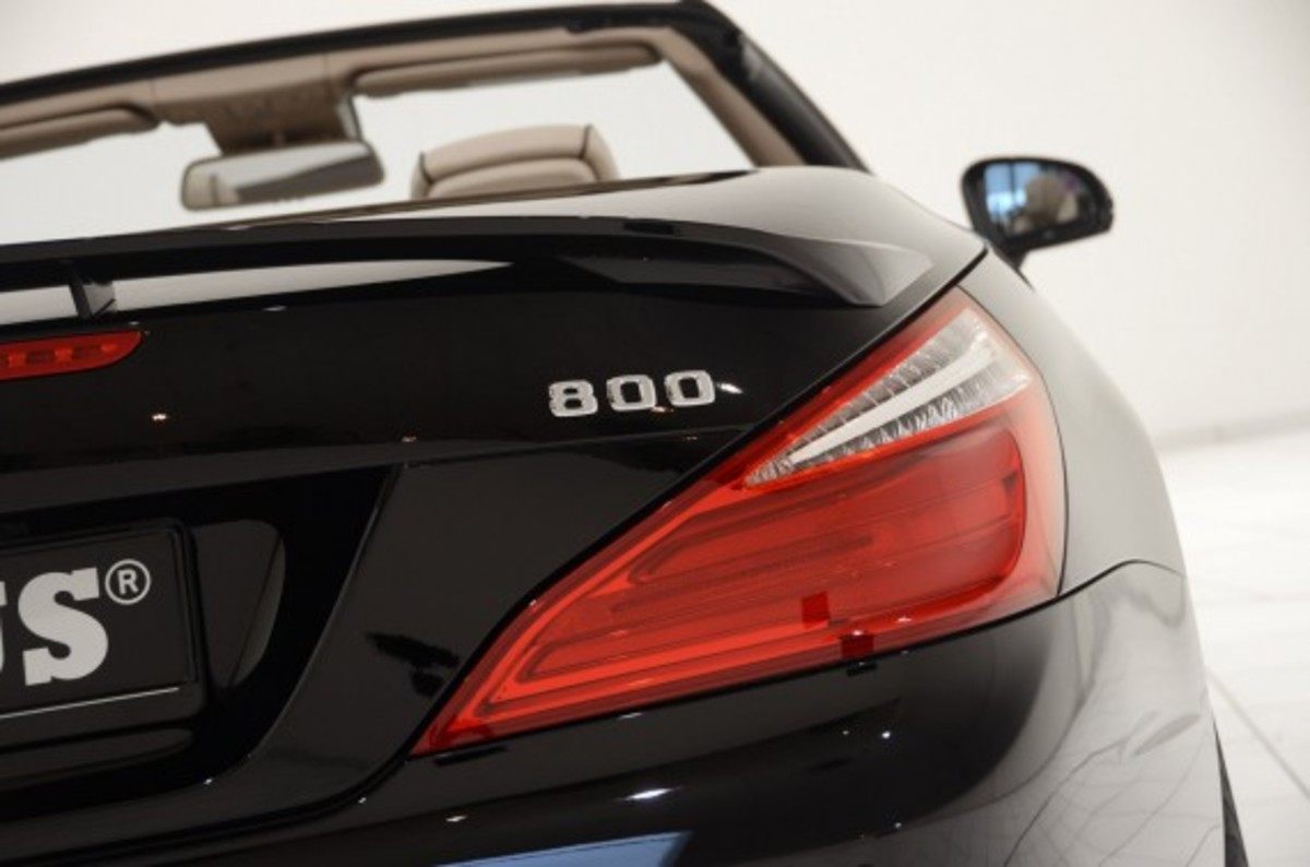 2013 Mercedes-Benz SL65 AMG – 800 Roadster Edition | By BRABUS - 13