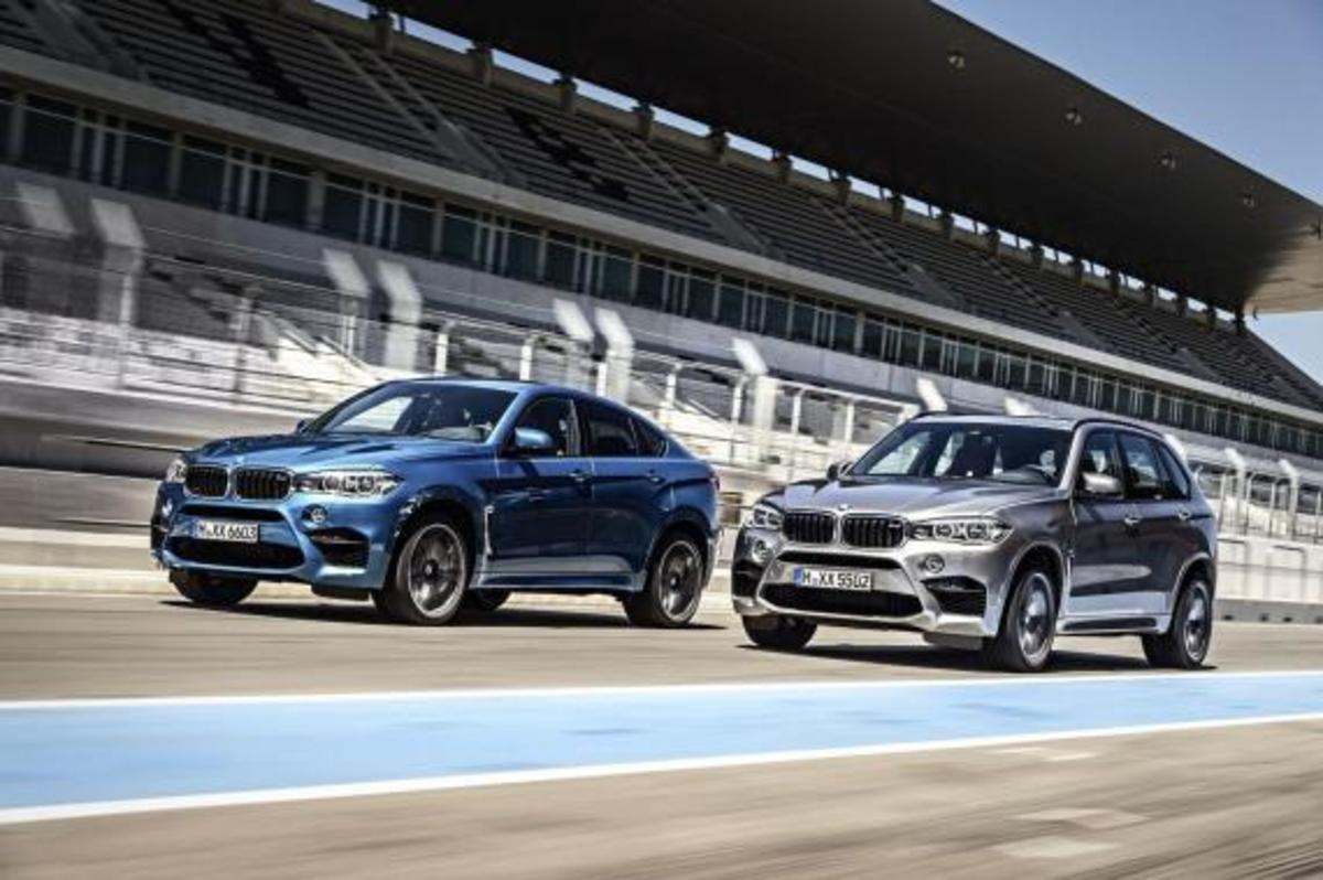 BMW Unveils 2016 X5 M and X6 M - 5