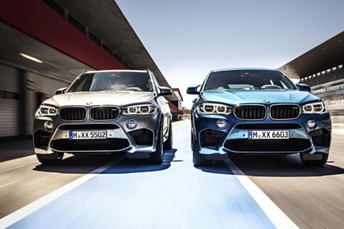 BMW Unveils 2016 X5 M and X6 M - 2