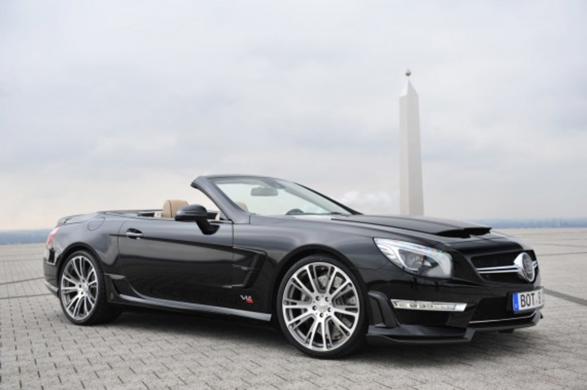 2013 Mercedes Benz SL65 AMG   800 Roadster Edition | By BRABUS