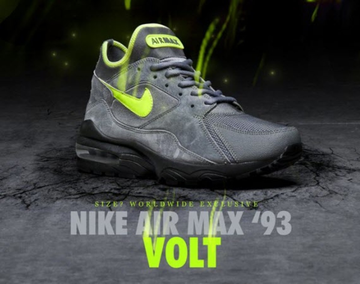 quality design 6d85e f4a10 After standing in the shadows of the popularity of its 90 and 95 kin, the Nike  Air Max 93 is ready for its time in the spotlight. Already rocking a strong  ...