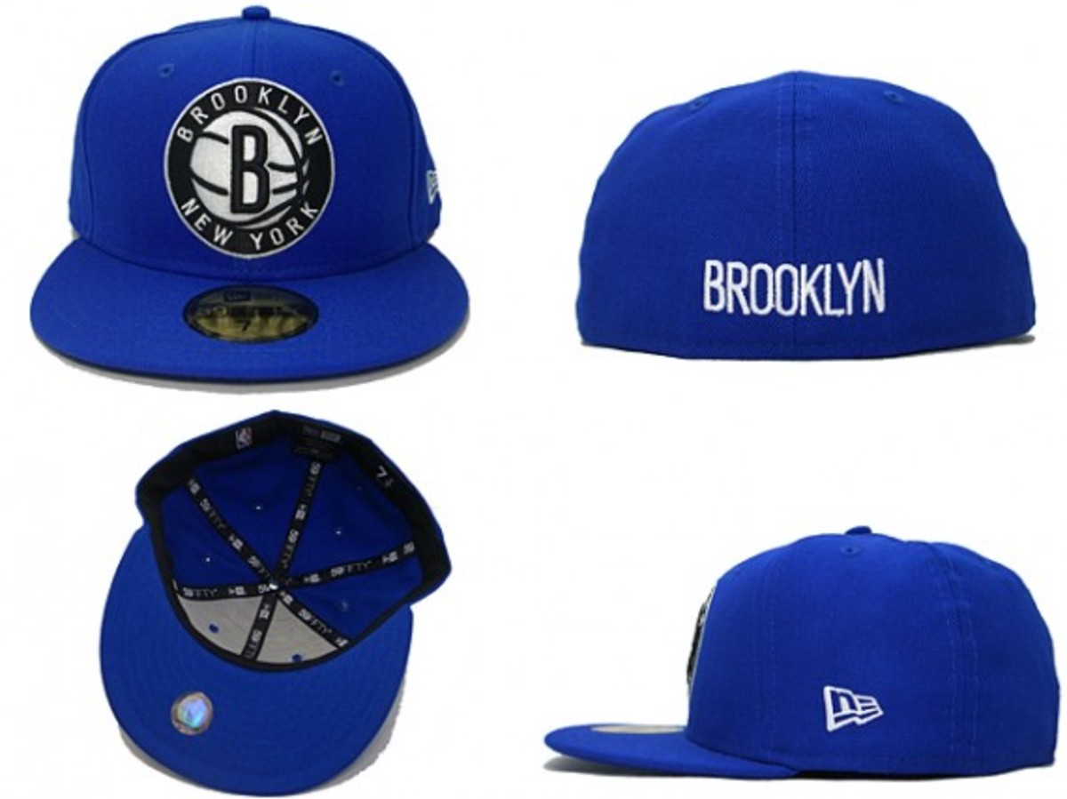 Brooklyn Nets x New Era - 59FIFTY Fitted Cap Custom Color Collection - 3