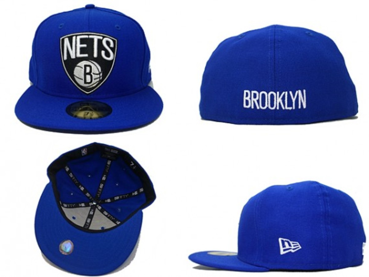 Brooklyn Nets x New Era - 59FIFTY Fitted Cap Custom Color Collection - 7