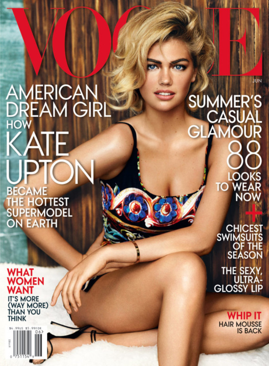 Kate Upton - Vogue US June 2013 Cover | By Mario Testino - 1