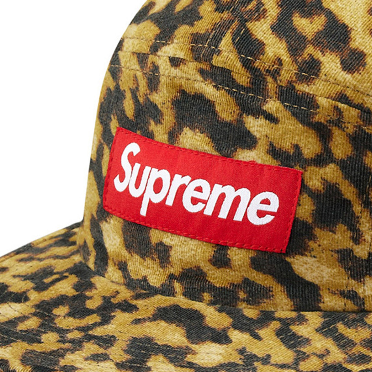 0c7f9728 Supreme x Liberty – Leopard Cord Camp Cap | Available Now ...