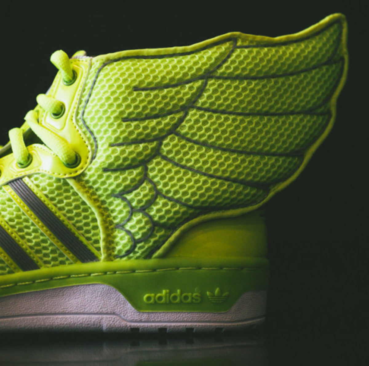 "adidas Originals by Jeremy Scott Mesh Wings 2.0 - ""Electric"" - 0"