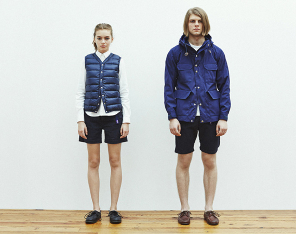 The North Face Purple Label - Spring 2014 Collection Lookbook