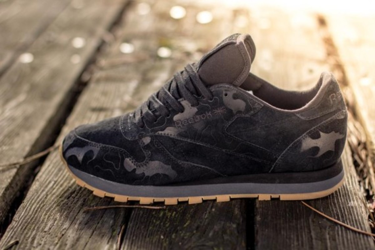 huge discount c2c67 fa562 ... Lux Horween Reebok Classic Leather - Embossed Camo Pack ...