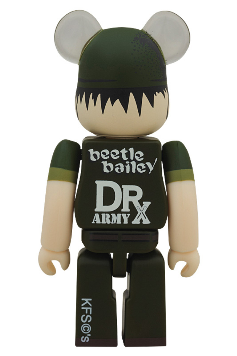 43653bcd4a49 Dr. Romanelli x MEDICOM TOY - Popeye and Beetle Bailey BE RBRICKS ...