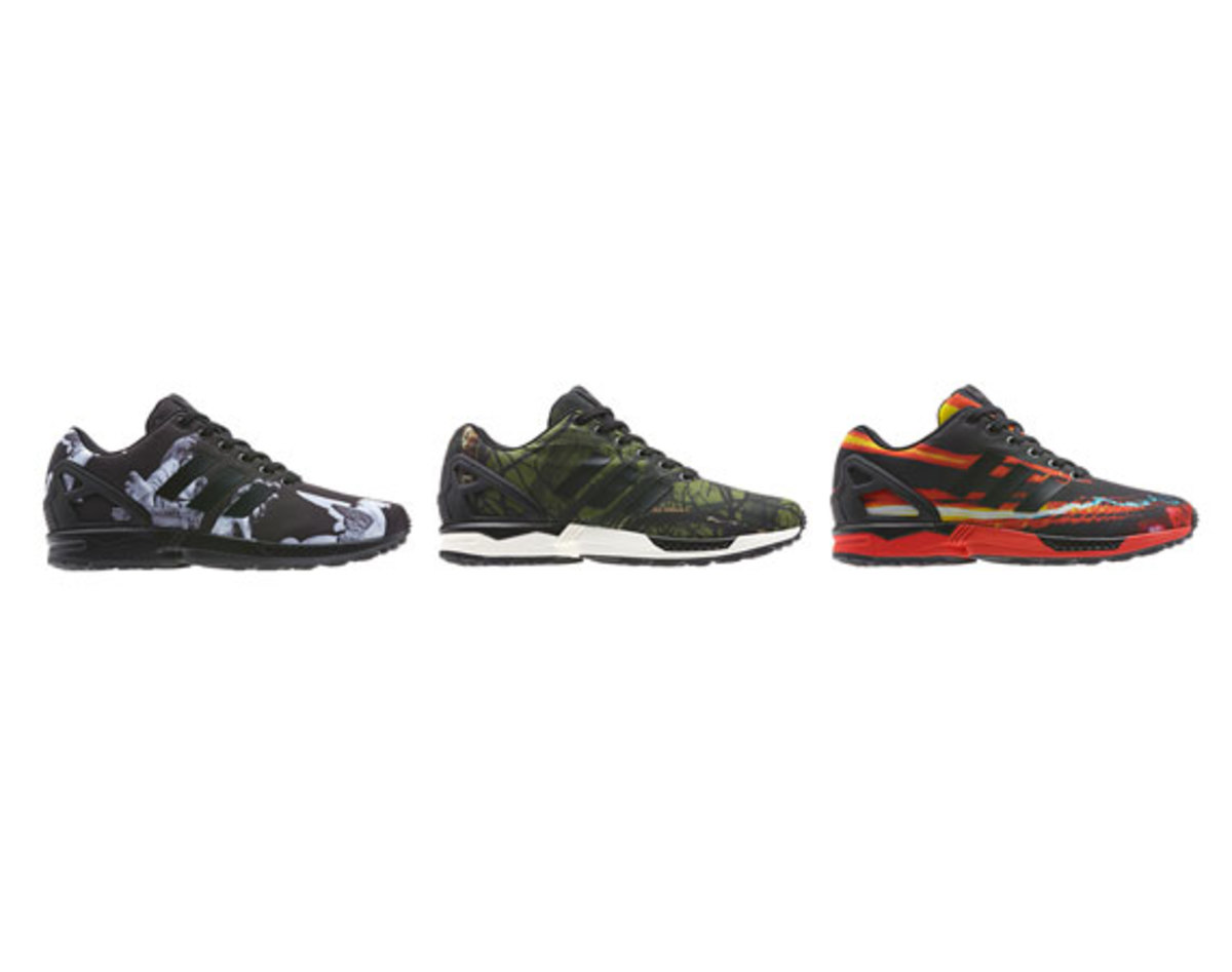 superior quality 60d82 7b646 adidas ZX Flux – Winter Print Pack - Freshness Mag