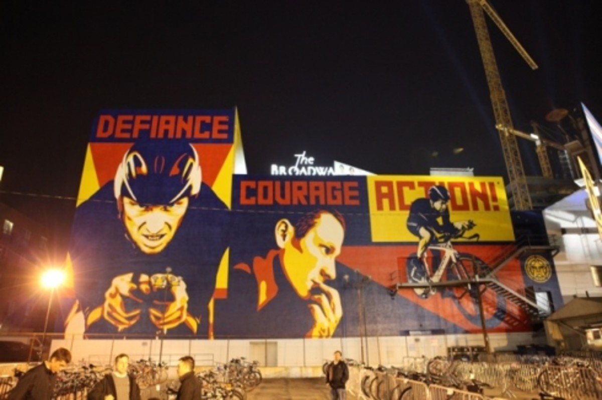 Nike & Lance Armstrong - Stages Touring Exhibition Announcement Event @ Mont ¡lban Theatre Los Angeles