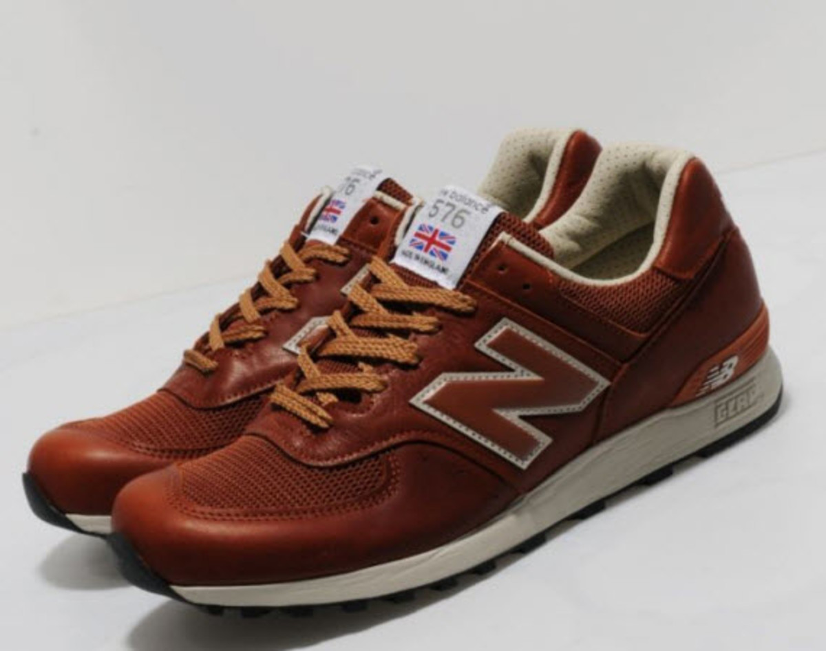 New Balance 576 - Premium Leather Pack