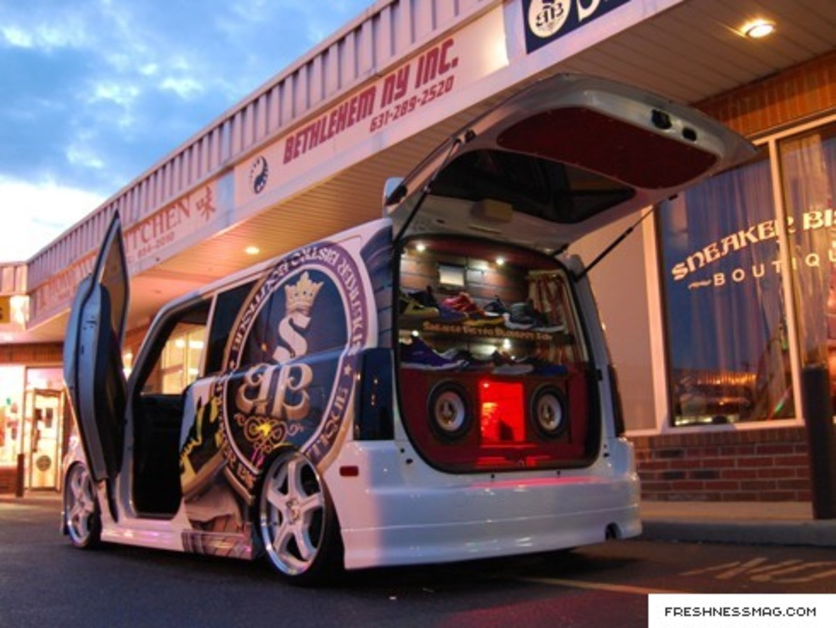 Sneaker Bistro - Customized Scion xB