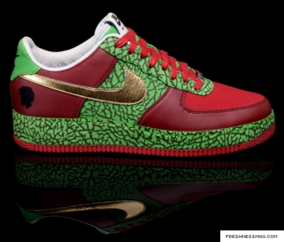 Nike x ?uestlove - 1WORLD - Air Force 1 Air Questo