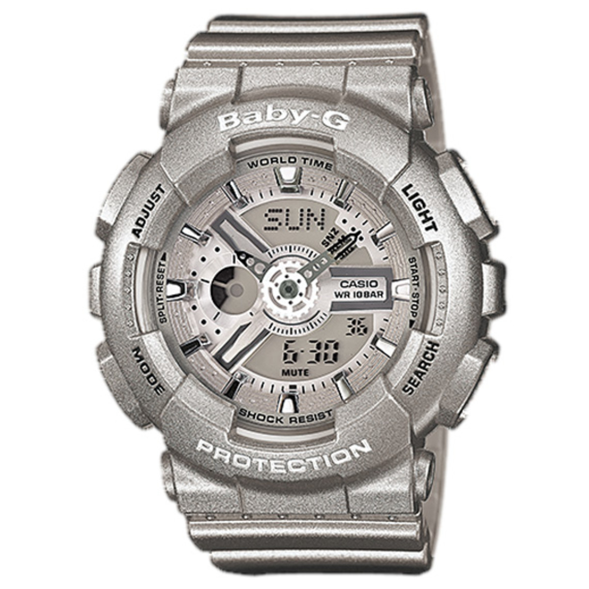 Casio G Shock Ga 110 Baby Ba Matching Collection Freshness Mag 100l 1a 110bc 8ajf Resistant Anti Magneticjis1 Inorganic Glass Mineral 20 Bar 660 Feet Water World Time 48
