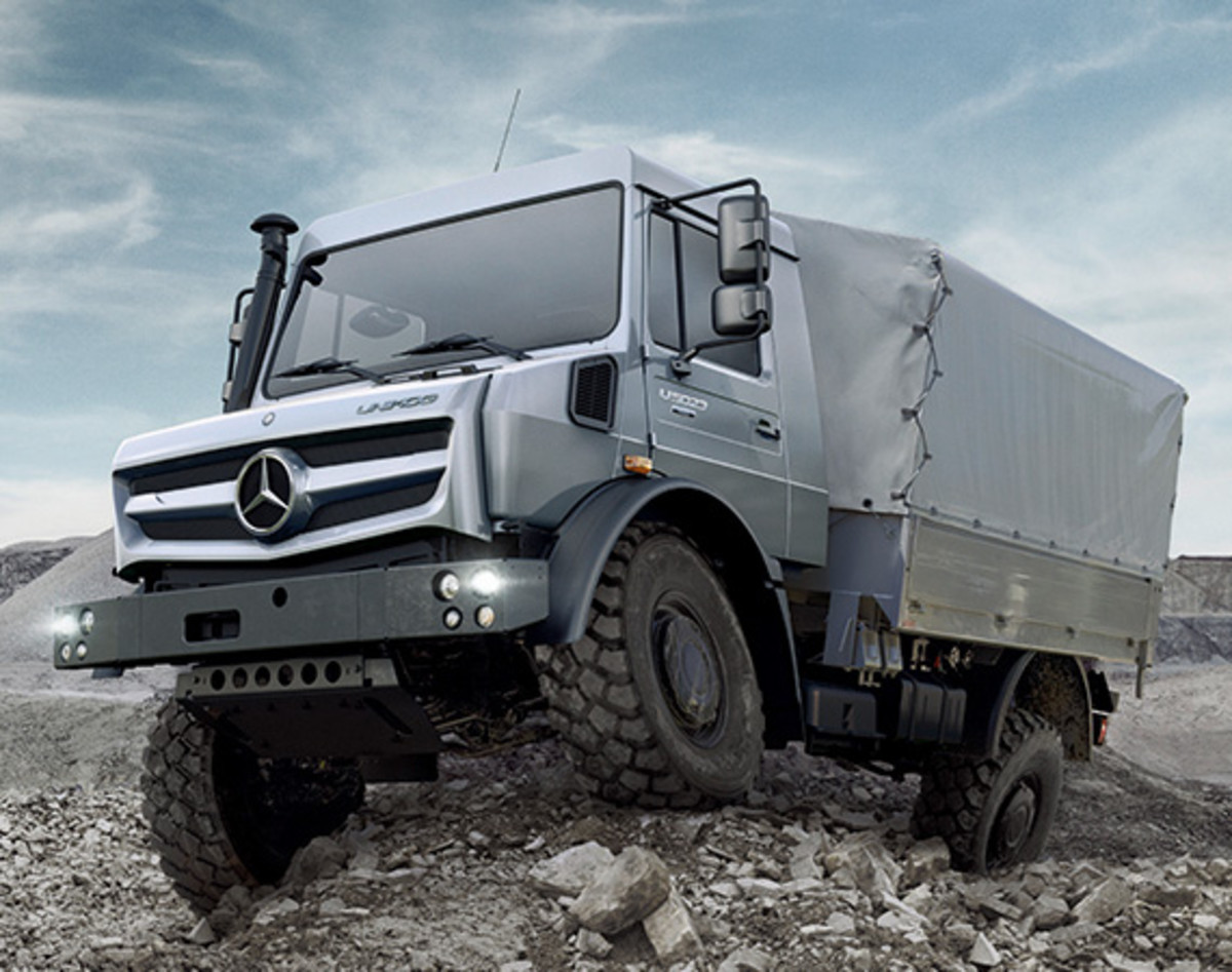 Mercedes Benz Unimog >> 2014 Mercedes Benz Unimog U4023 U5023 New Generation Of