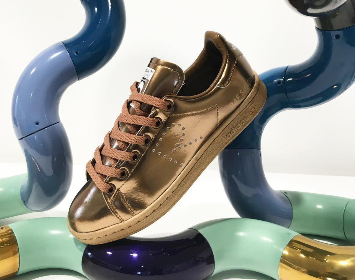 80297ac8ffc0 Raf Simons Gives the adidas Stan Smith a Metallic Copper Makeover ...