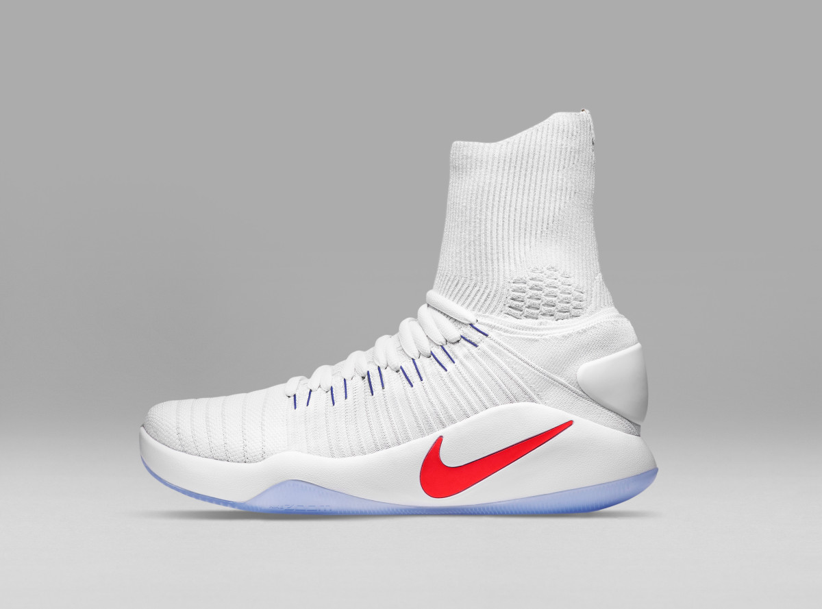 5d7b69f6c The Nike Hyperdunk 2016 Features a Towering Flyknit Build ...