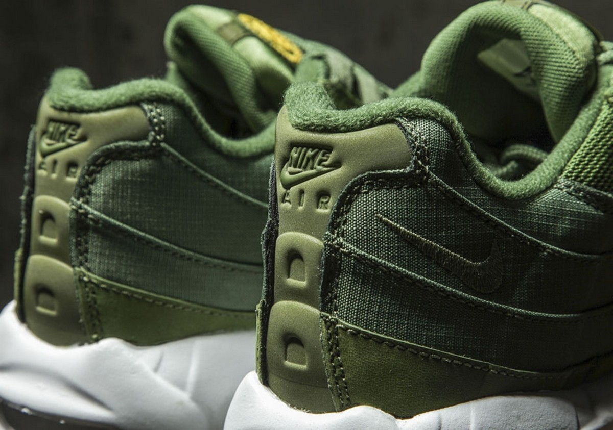 new style 090af f85ec A Detailed Look at the Stussy x Nike Air Max 95 Releasing ...