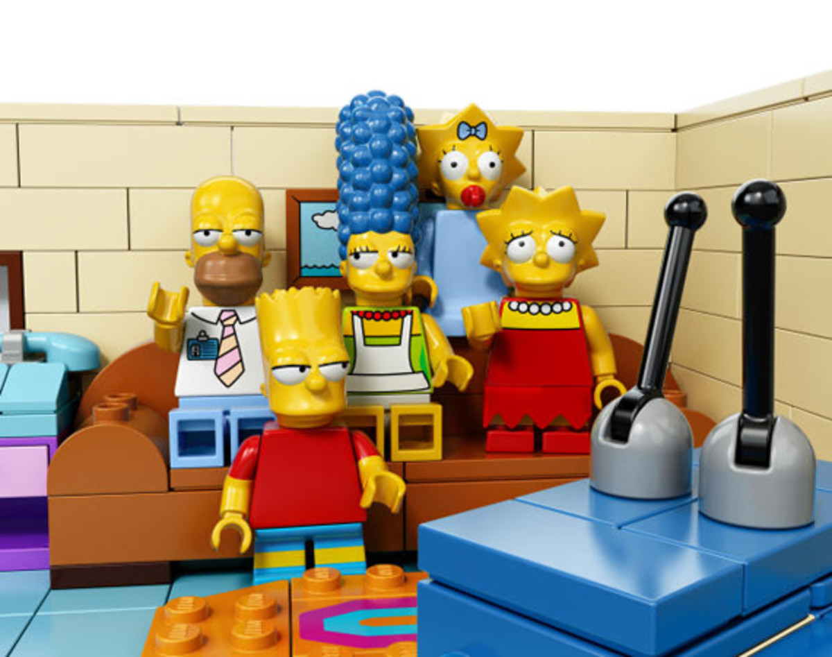 LEGO x The Simpsons - House Set 05