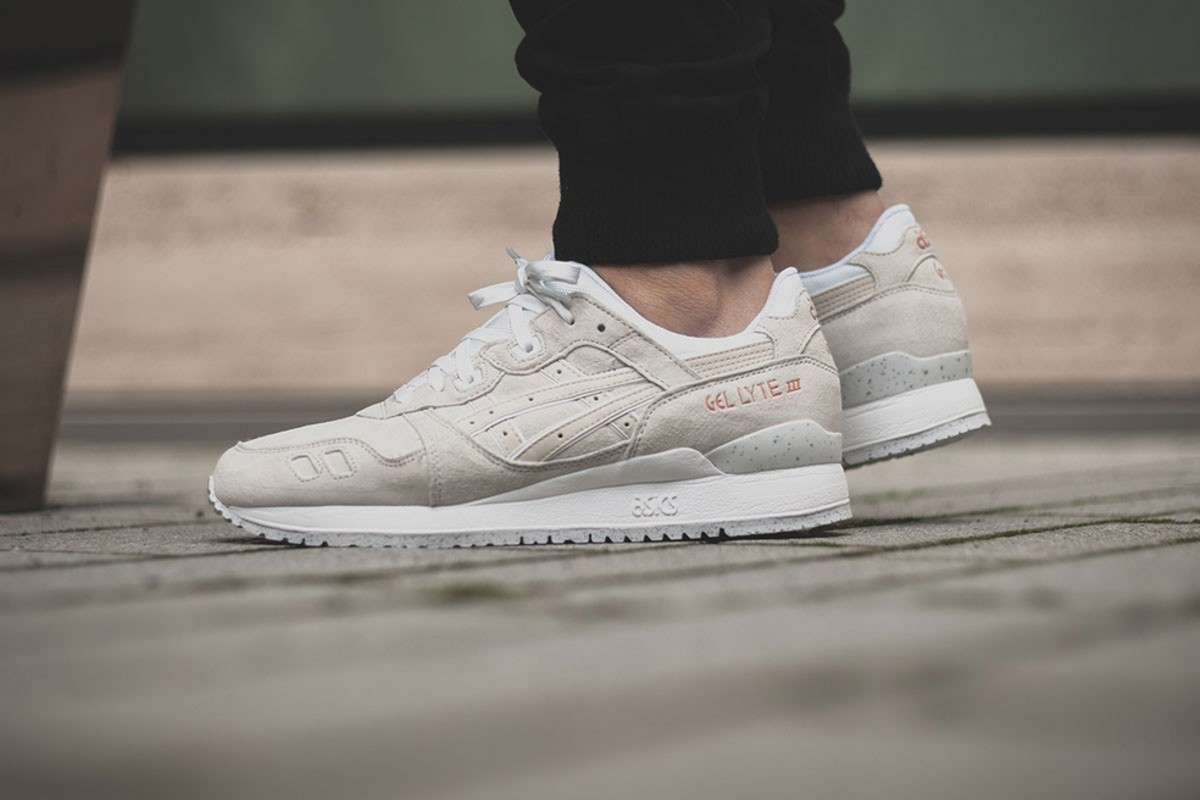 asics gel lyte iii black rose gold