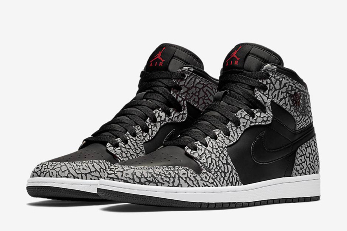 Elephant Print Arrives on the Air Jordan 1 - Freshness Mag f9608f388