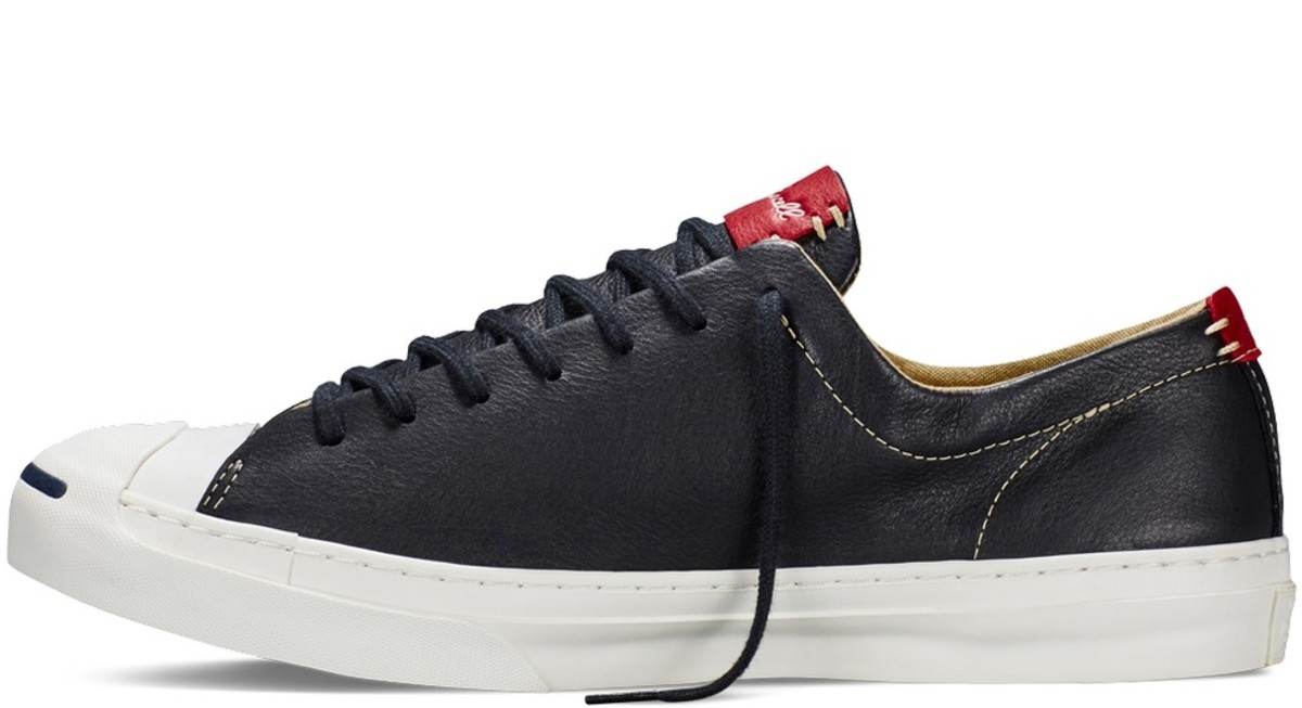The Converse Jack Purcell Remastered in Tumbled Leather