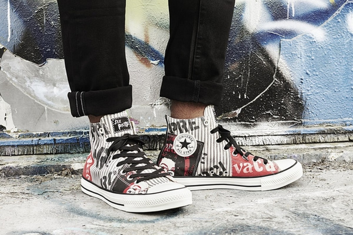 073808faabde The Converse Chuck Taylor All Star Sex Pistols Collection Readies for  Spring 2016