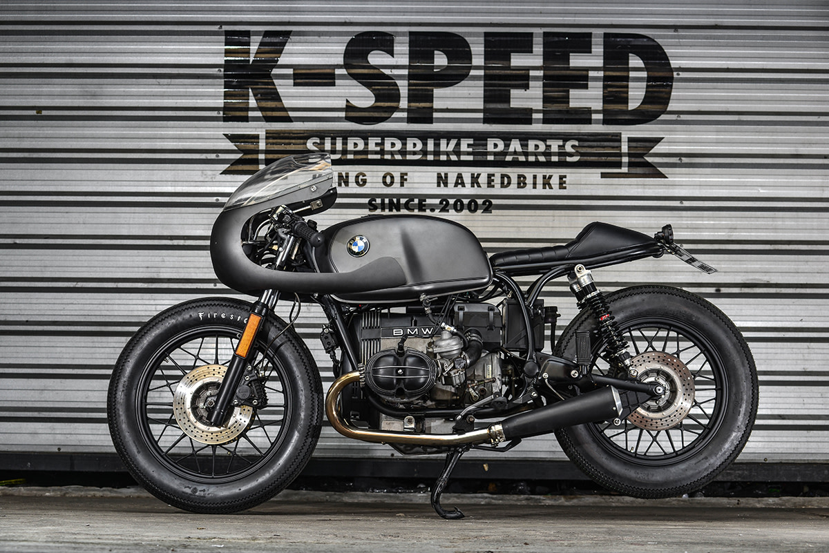 K Speed Whips Up A Bmw R100 Retro Cafe Racer Freshness Mag