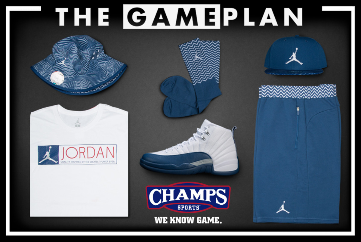 f9a07c61904 The Game Plan from Champs Sports Presents the Air Jordan 12 French ...