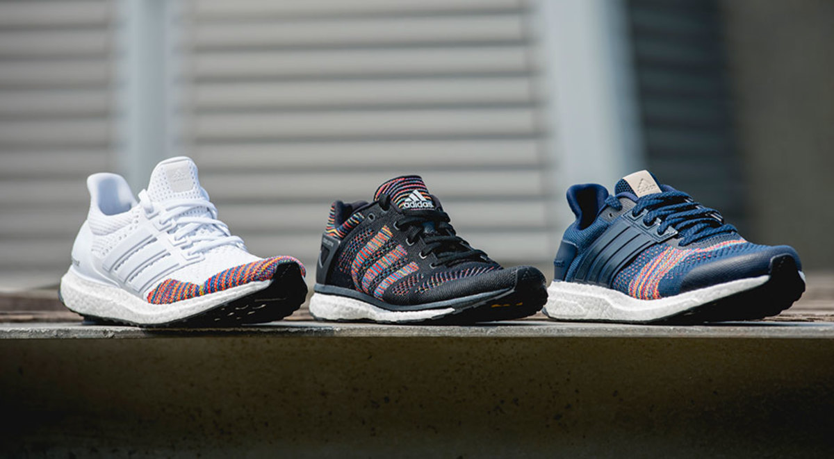 ac177ccdb541 Multi-Color Primeknit Arrives on a Trio of adidas Boost Runners ...