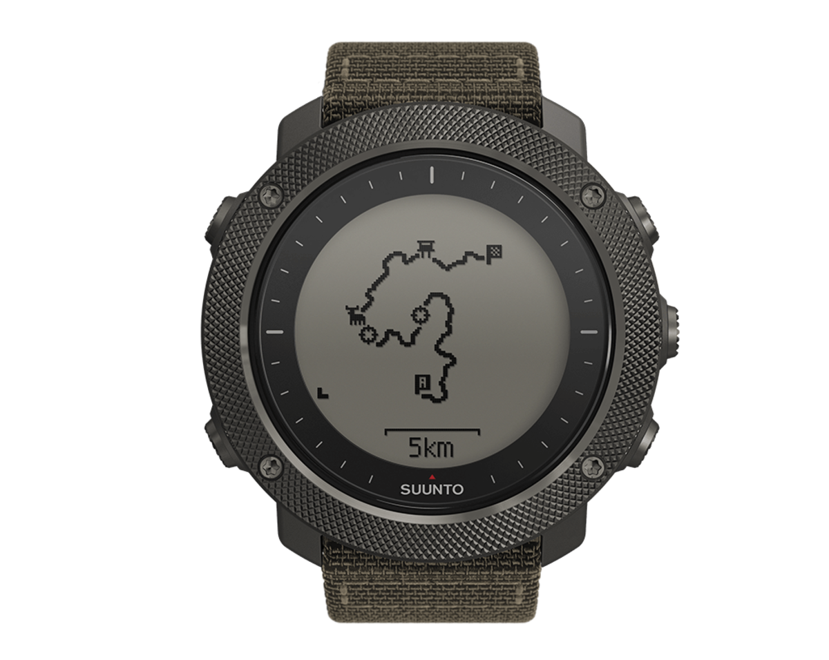 The Suunto Traverse Alpha Watch is Your Guide to the Wild