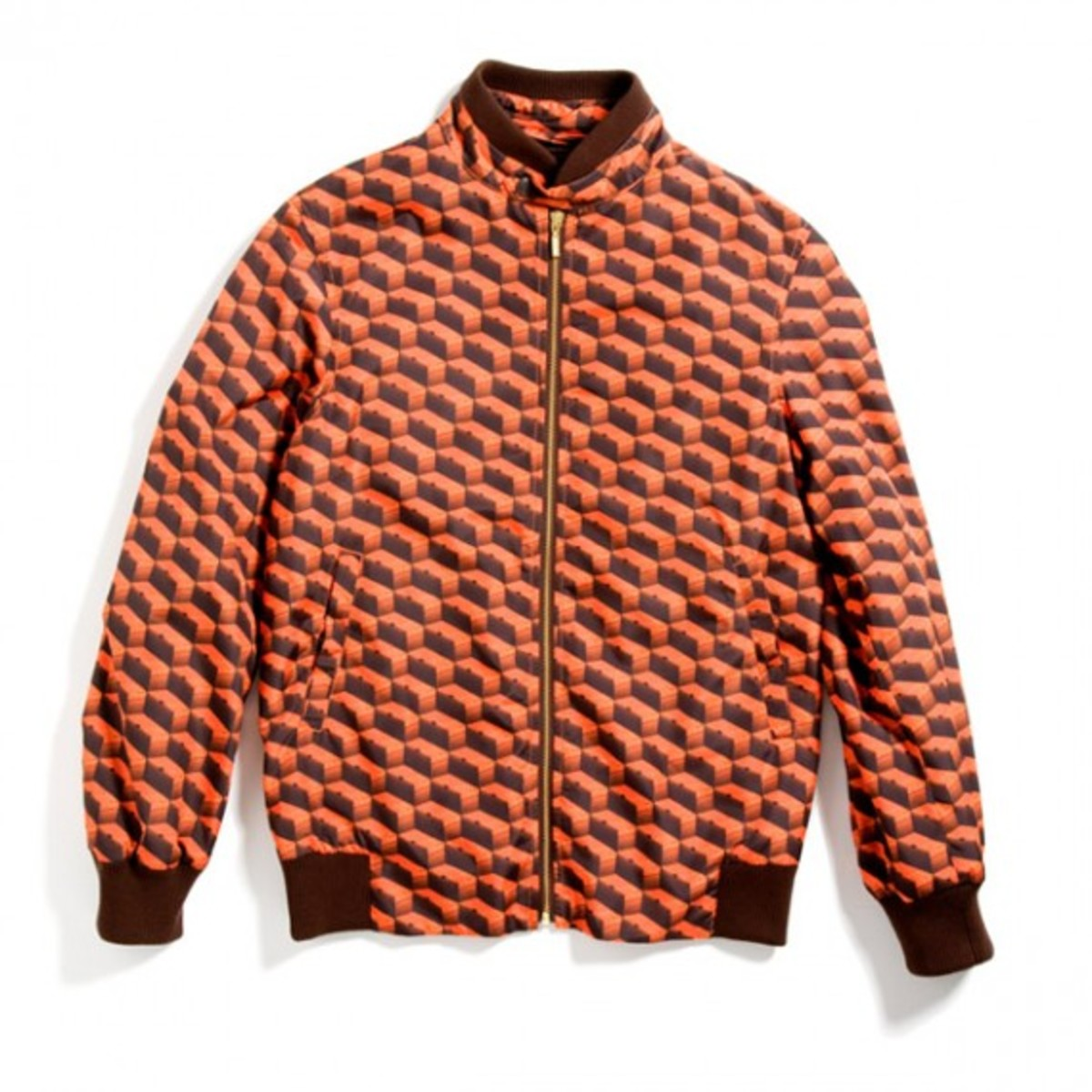 Orange Box Riders Jacket