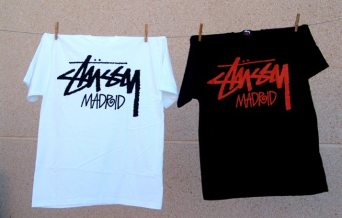 Stussy Madrid Chapter Store Tees - 1