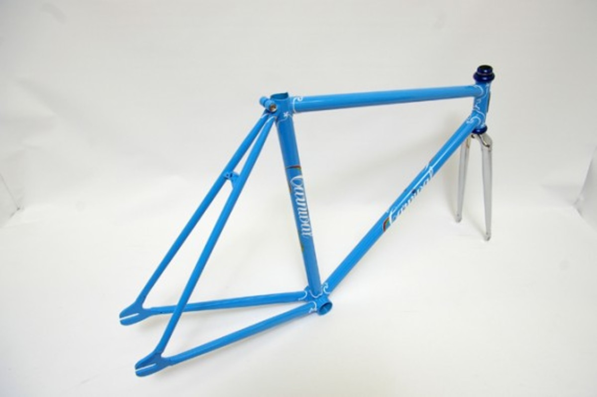 Blue Fixed Gear Frame 4