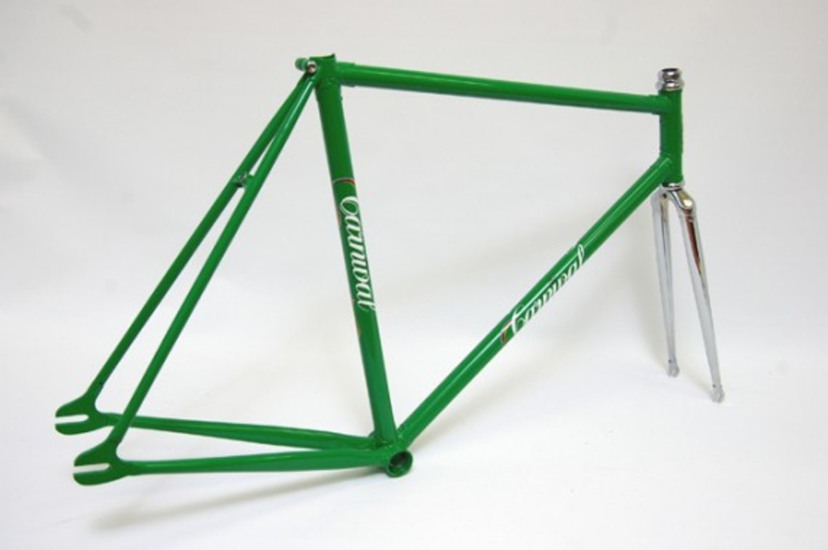 Green Fixed Gear Frame 3
