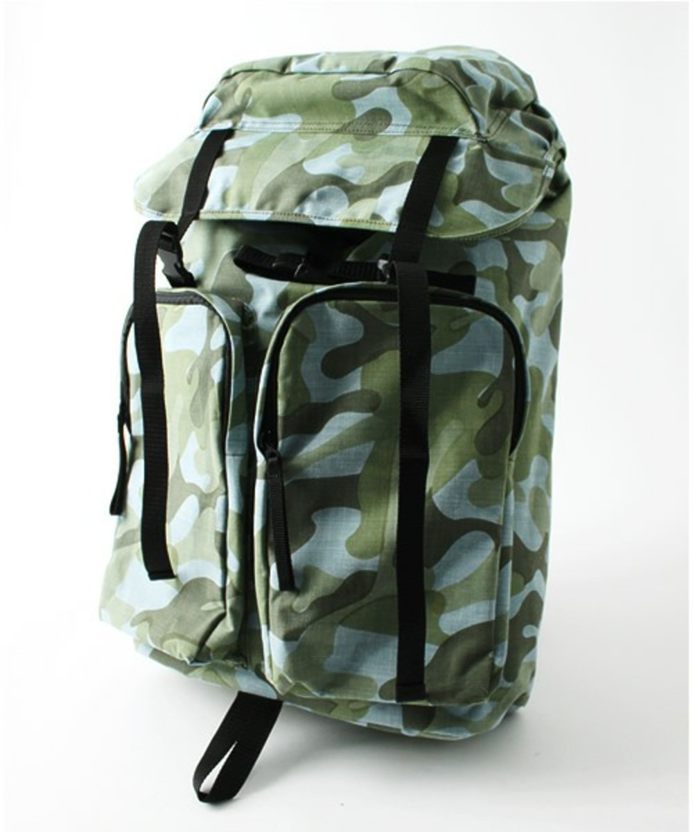 Layers Camo Summer Tweed Daypack Blue