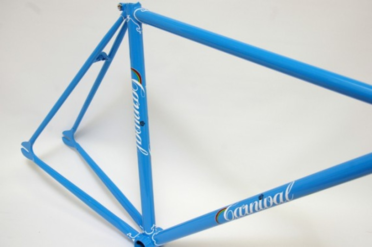 Blue Fixed Gear Frame 3