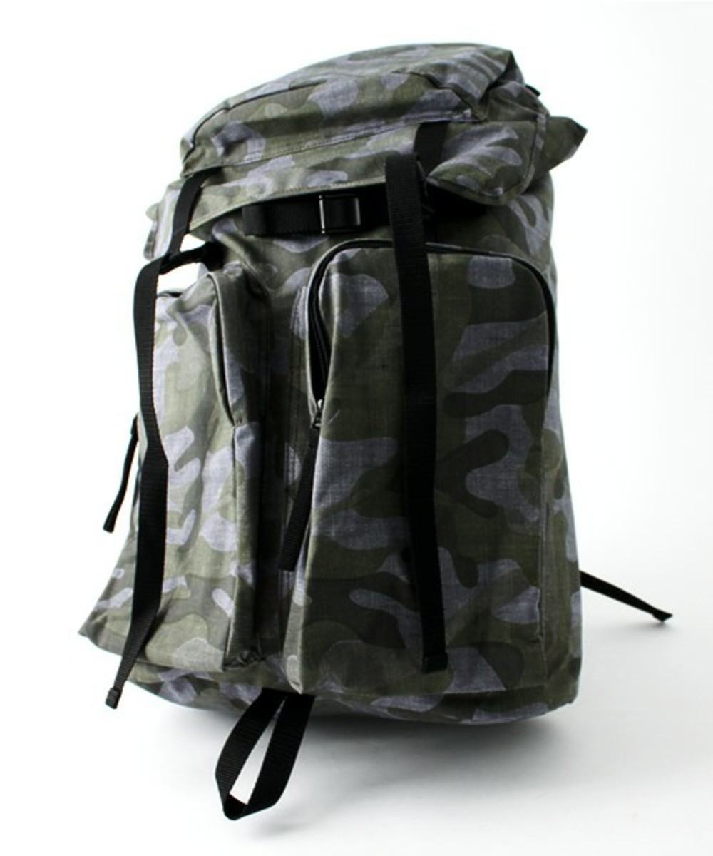 Layers Camo Summer Tweed Daypack Gray