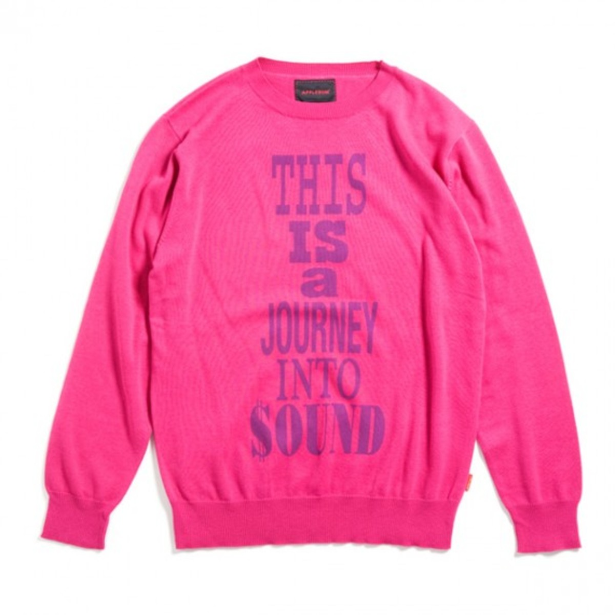 Paid in Full Crew Neck Sweater Pink
