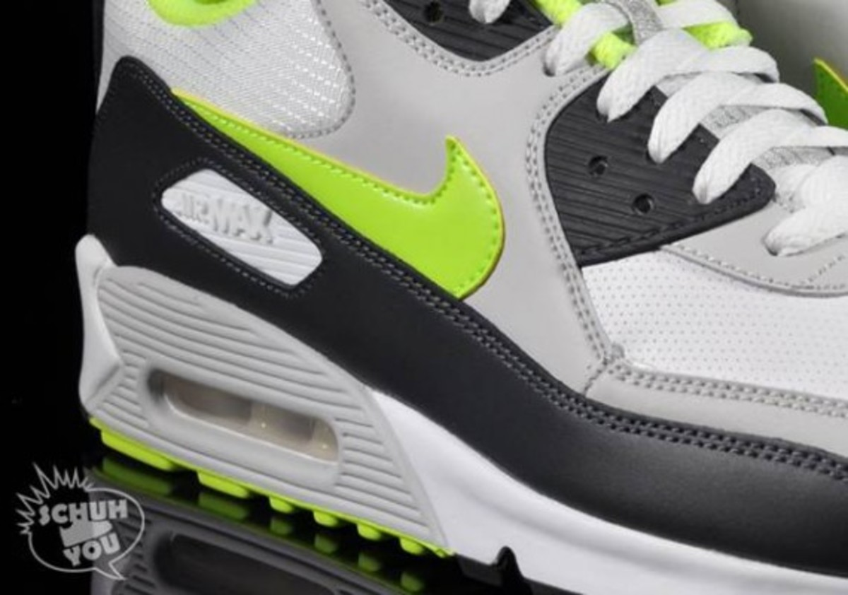 separation shoes be002 bfcee nike-airmax-90-lime-gray-5