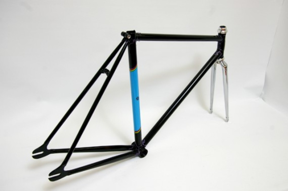 Black Fixed Gear Frame 4