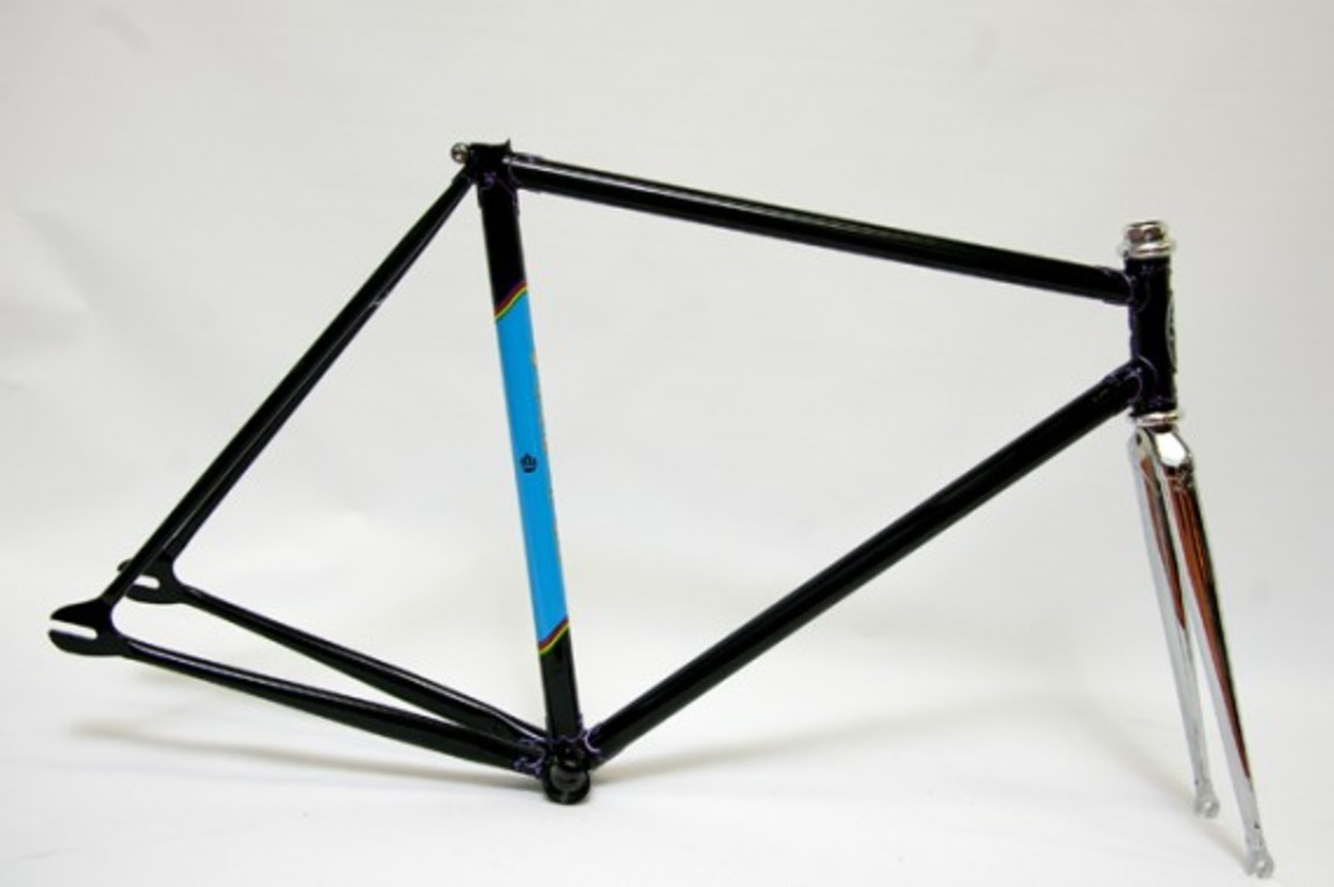 Black Fixed Gear Frame