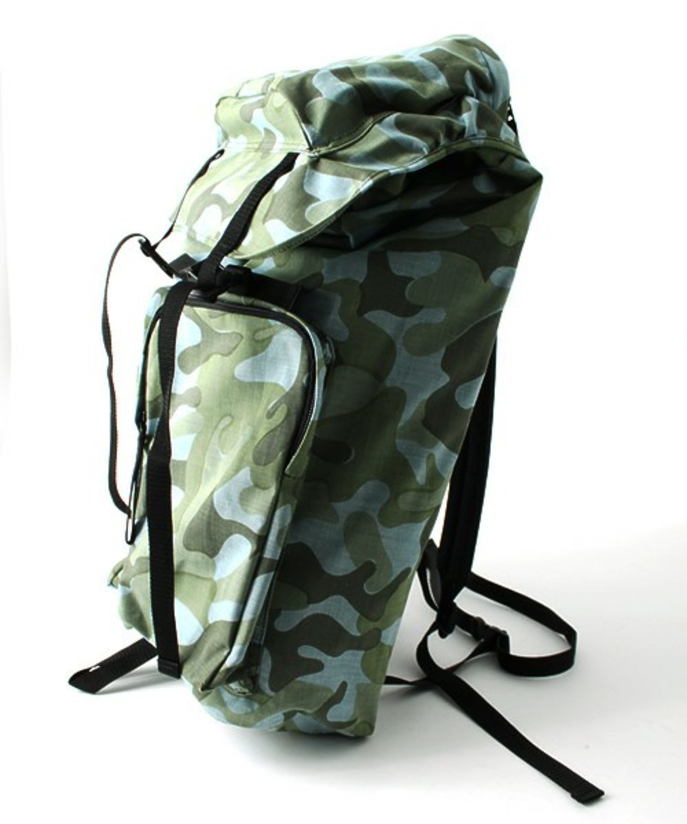 Layers Camo Summer Tweed Daypack Blue 2