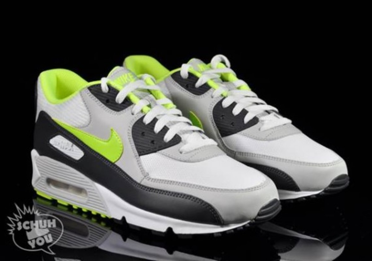 Nike Ntrl Anthracite WhiteVolt 90 Grey Air Max WIH2E9DeY